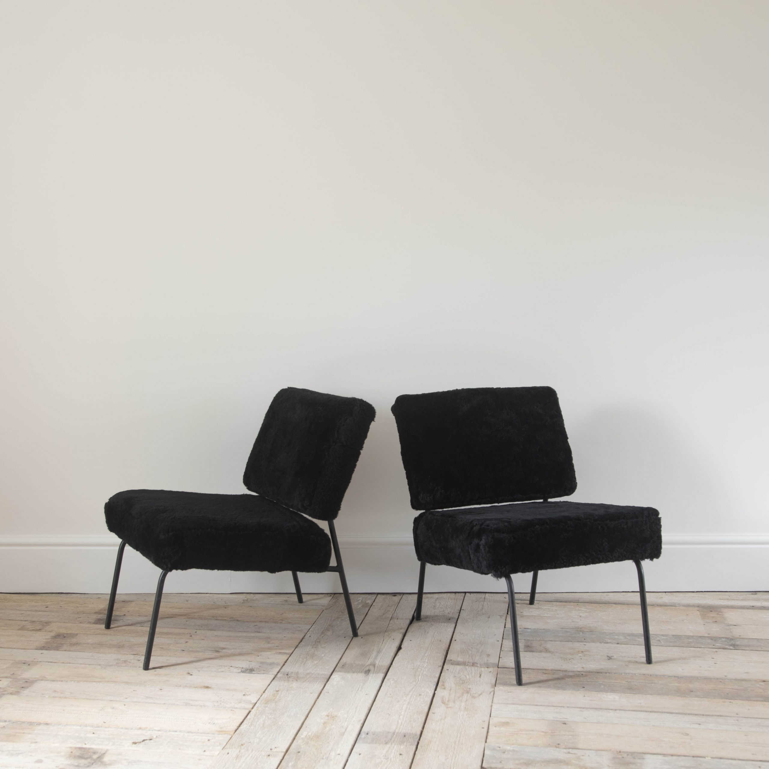 Pair of Pierre Guariche Chairs