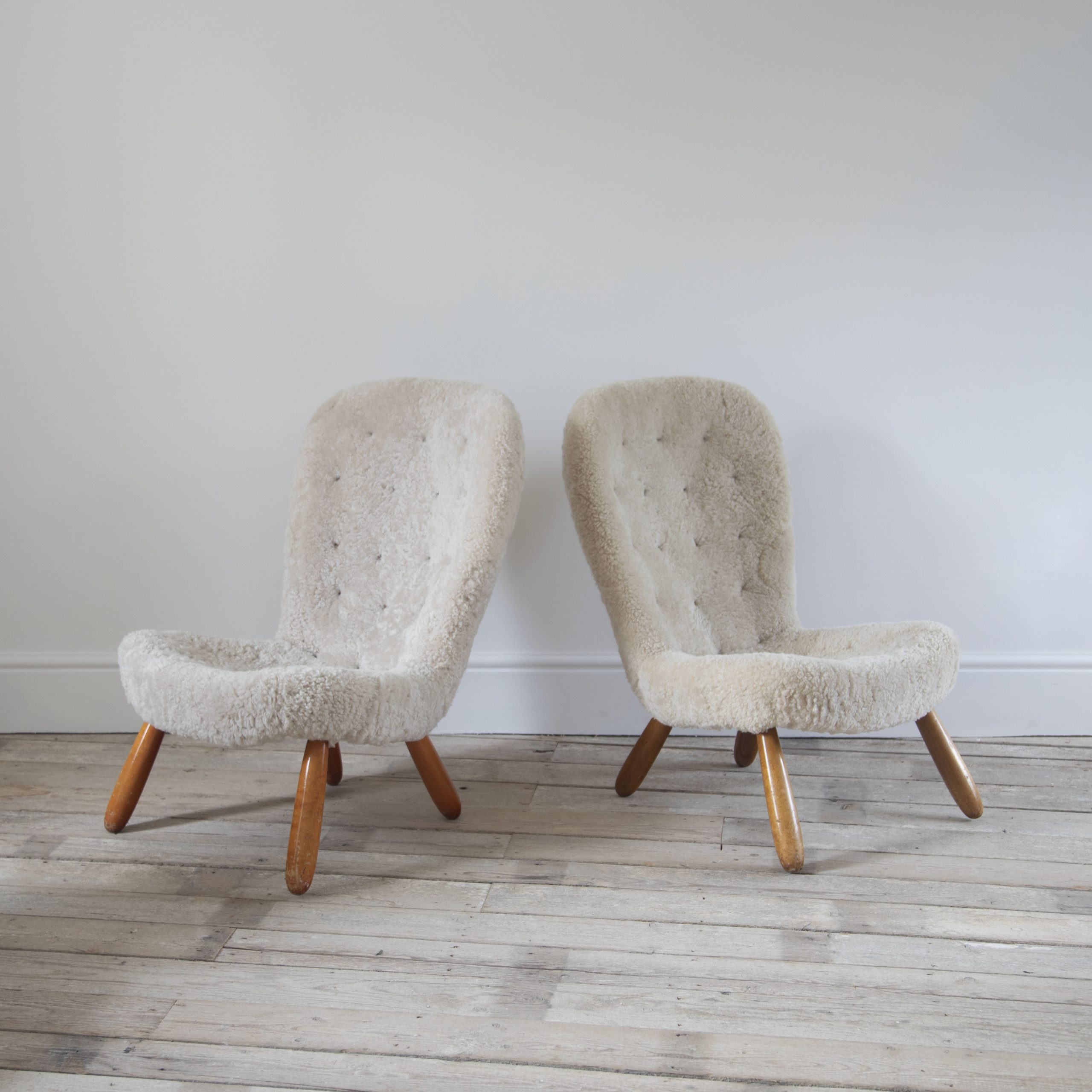Pair of Philip Arctander Chairs