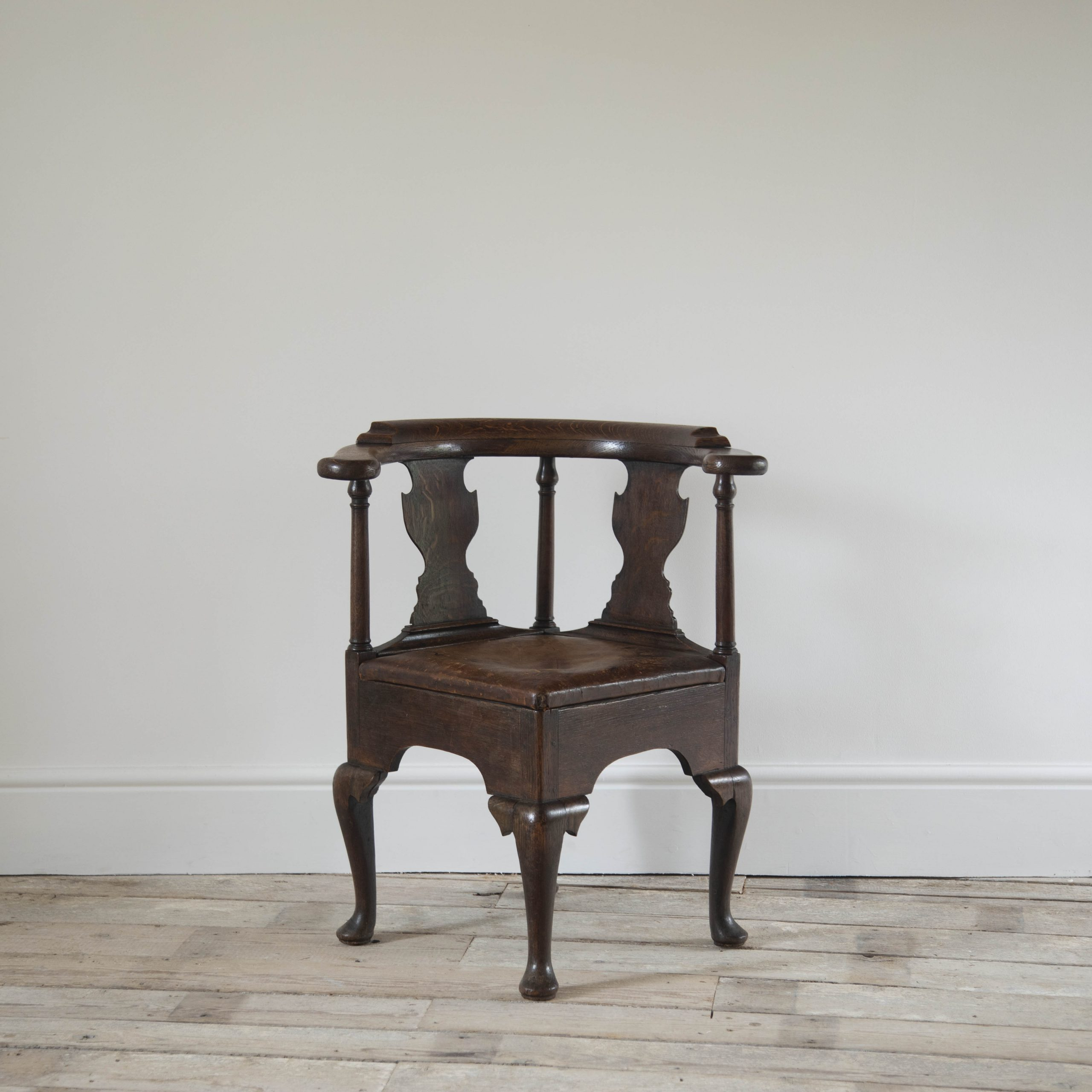 Antique English Corner Chair