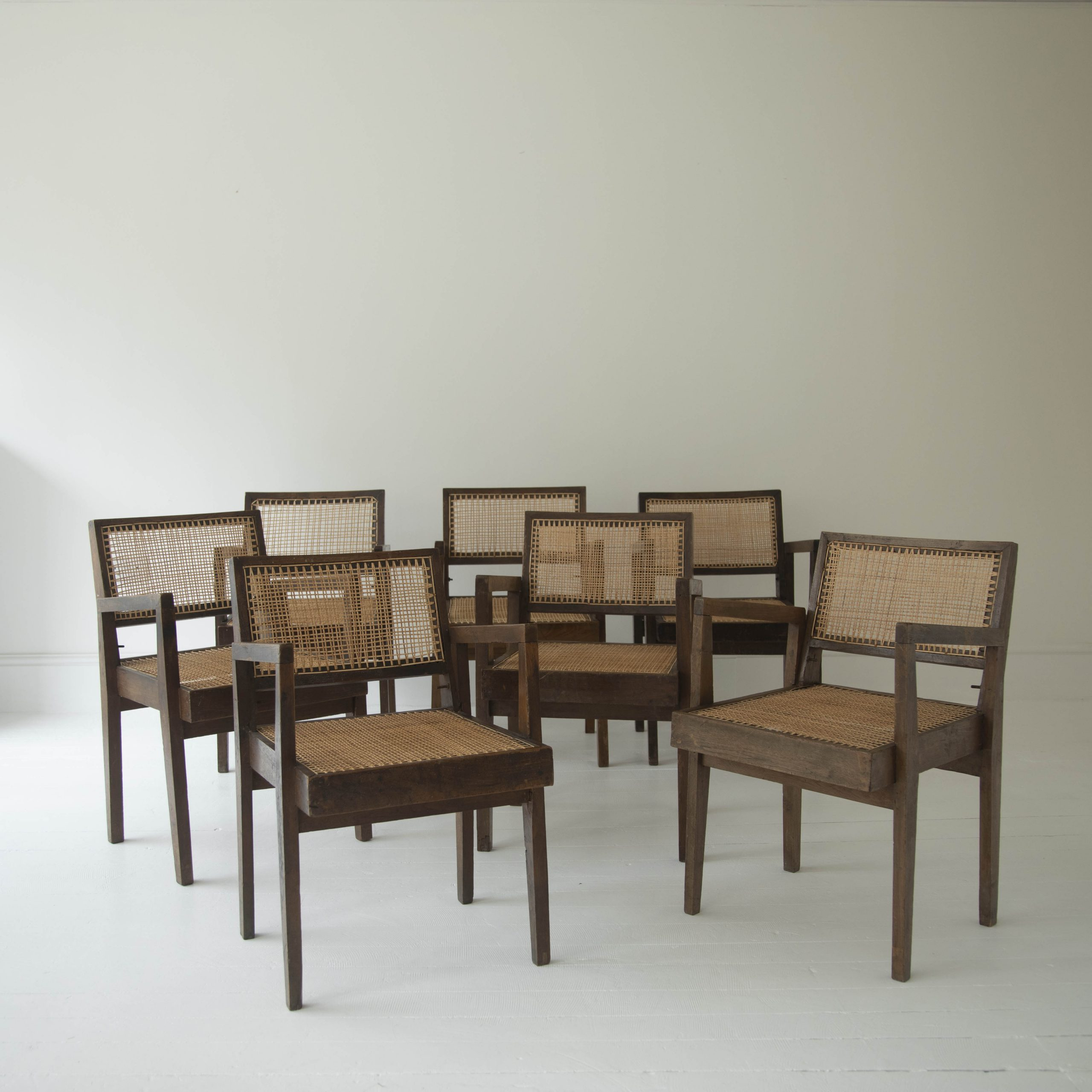 Set of Jeanneret Desmontable Chairs
