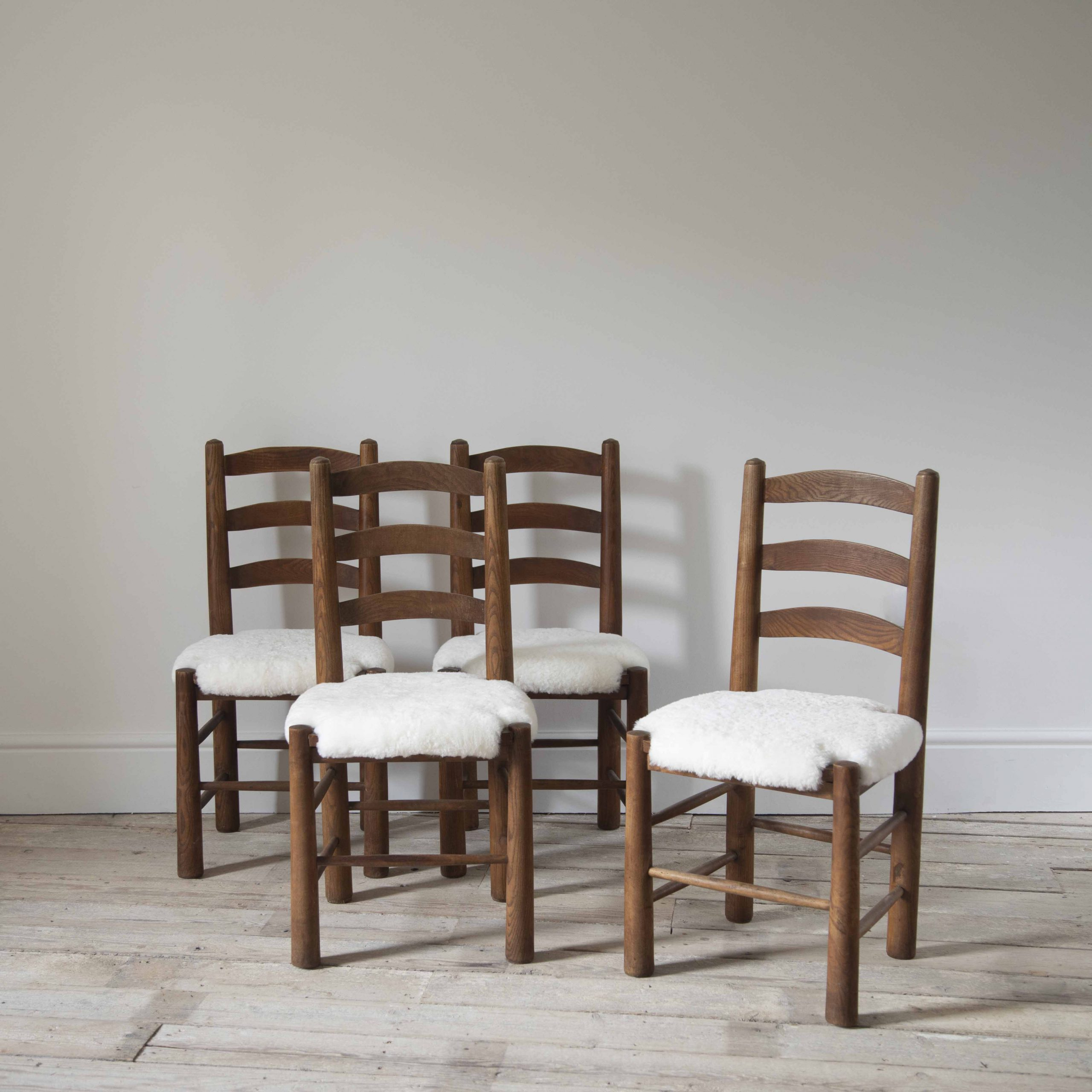 A Set of 4 French Chairs