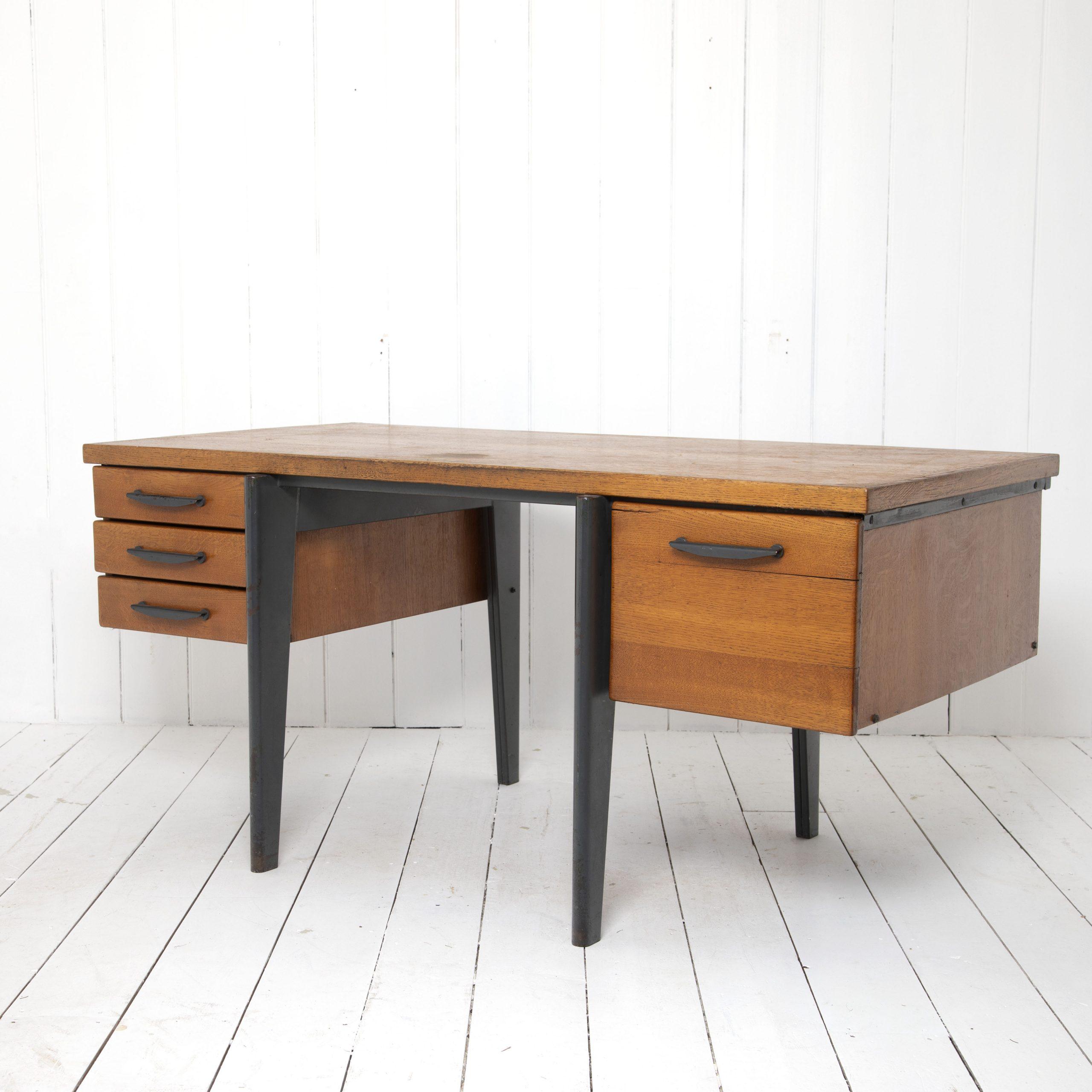 Standard Desk by Jean Prouvé