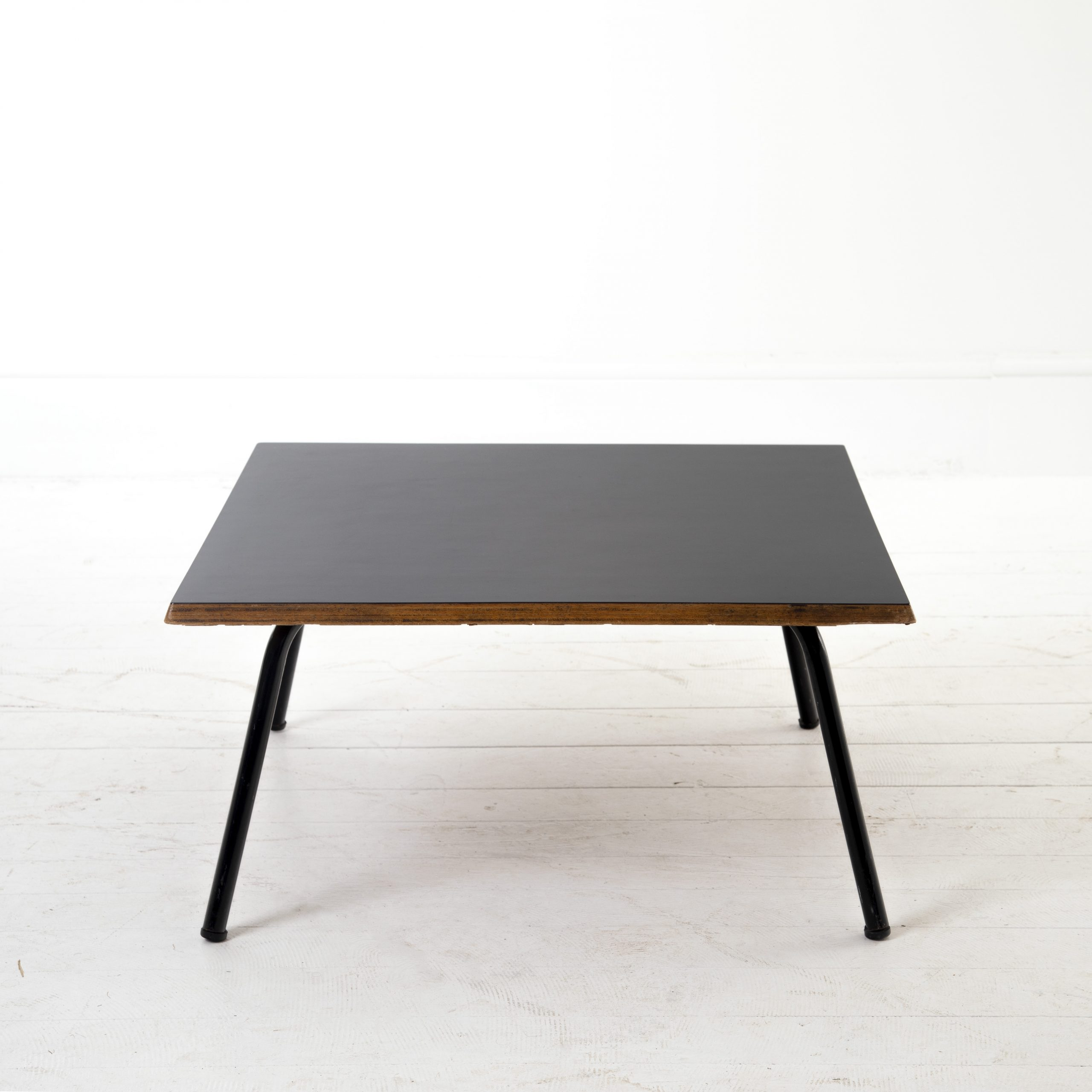 "Charlotte Perriand ""low square"" coffee table."