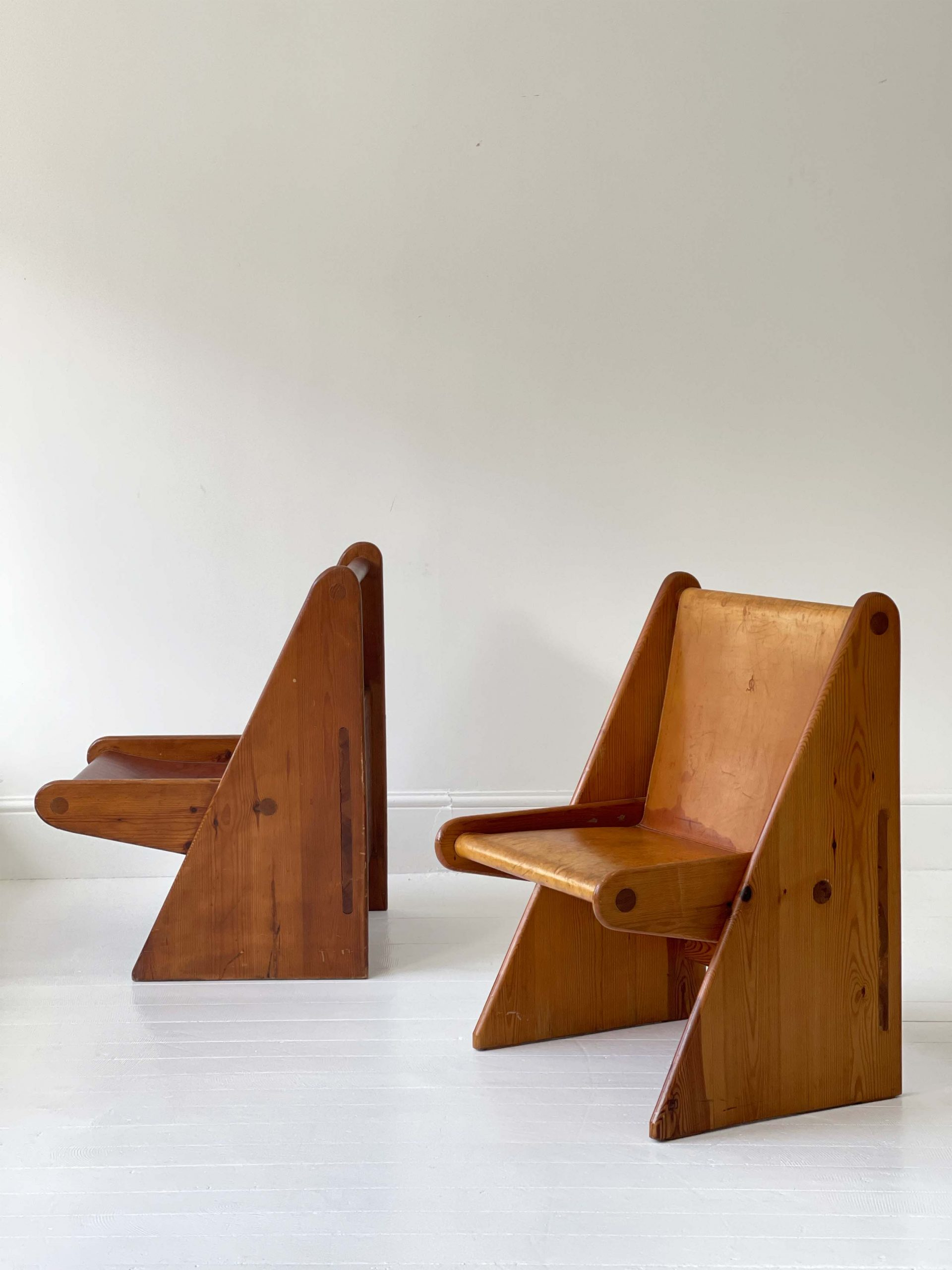 Spanish Leather Chairs